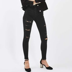 TOPSHOP super high waisted joni jeans